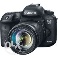 Wanted used canon 6d or 7d mark ii