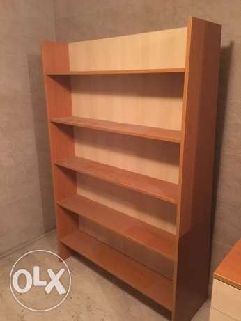 bibliothèque 180 cm with tv place double face new