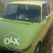 BMW 2002 Yellow color