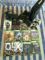 Xbox 360 - 11 games - 5 controlers