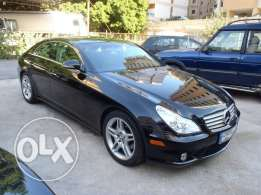 mercedes cls 500 , 2006 , sport package , fully loaded , black on blac