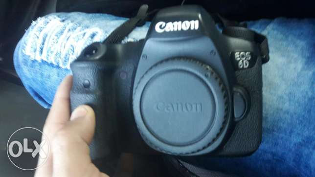 6d canon like new غبيري -  2