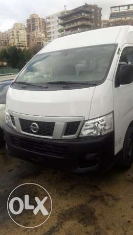 Nissan Urvan high roof 2014