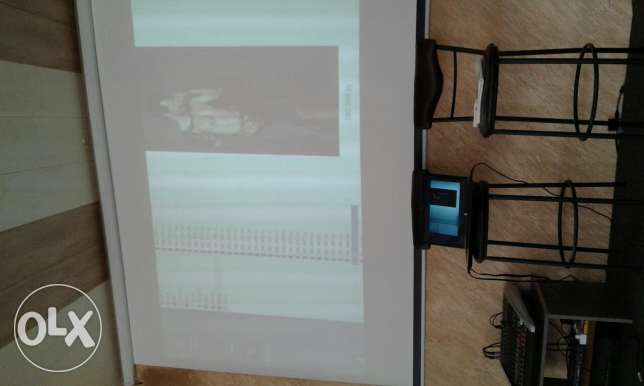 BenQ projection and screen