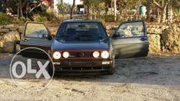 Golf 2 model 86 inkad for sale as