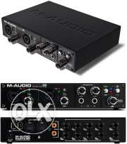 m-audio 610 best sound card for recording home studio