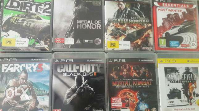 Ps3 Cds For Sale الميناء -  2