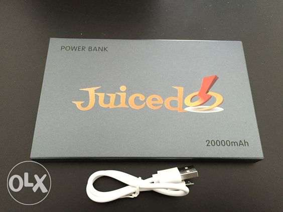Juiced power bank 20000