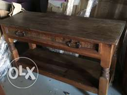 Mexican wood counter