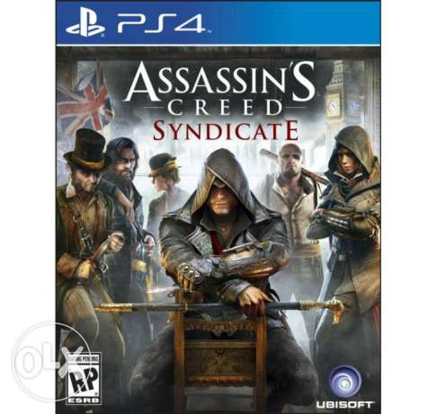 Assasin's Creed Syndicate PS4 Brand New Seled (makhtoume)