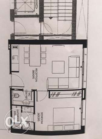 65 meters apartment for sale in achrafieh beirut