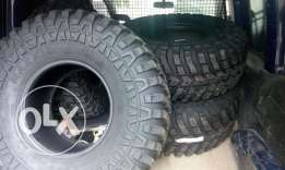Maxxis 4x4 tiers for sale brand new