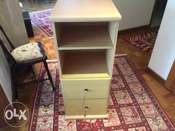 TWO bookshelves cabinets