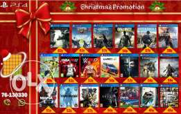 New Ps4 Games - Christmas offers