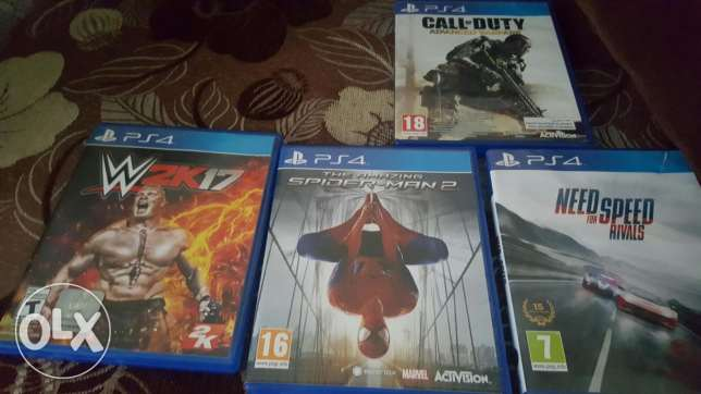 4 games for ps4