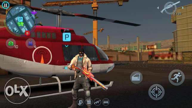 Gangstar Vegas Acount 1M$ And Helicopter level 22