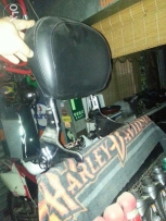 Harley backrest