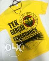 now on sale V neck yellow shirt
