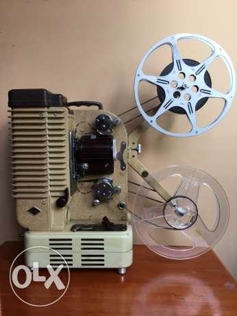 Vintage Eumig 8mm Film Projector