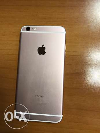 iphone 6s plus rose gold 128 gb (like new) فردان -  2