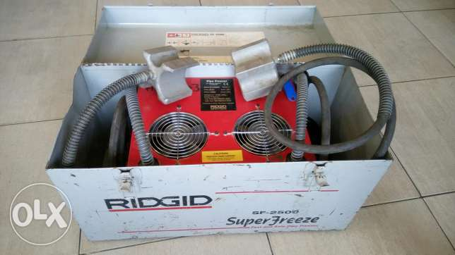 Super freeze..ridgid