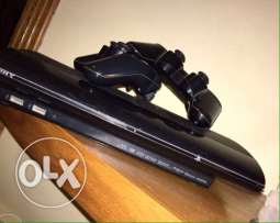 ps3 500GB super slim 2controllers 4gmaes
