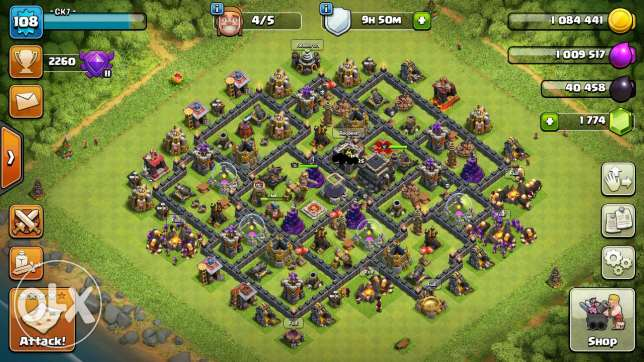 Clash of clans acc for trade