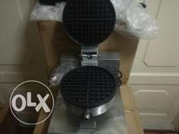 waffle baker stainless مع كفالة