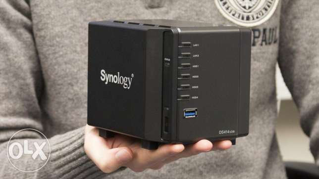 Synology ds414 slim المرفأ -  1