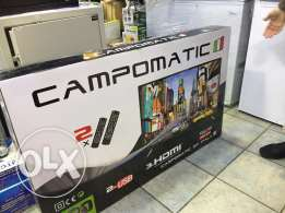 tv led 52 inch campomatic with one year warranty NEW