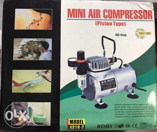 mini air compressor for painting or tattoo