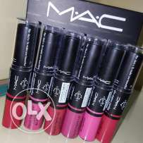 Mac lipstick and lipgloss 2 in 1