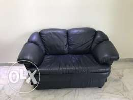 Leather sofas