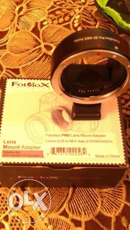 4 sale 125 usd Fotodiox adapter for eos canon to fe mount (sony)