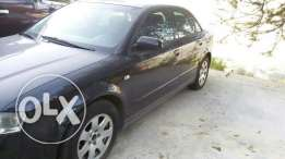 Audi a4 super deluxe full option shawfeta live bt3aber 3ana