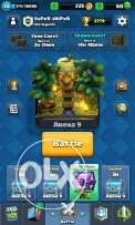 Clash royae and clans fi ŕ legg and ared clach of clans mni7a