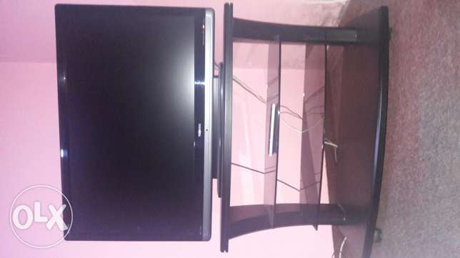 42 inch LCD with table for sale