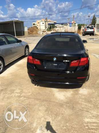 bmw 528i 2011 black xenon checheh شكا -  1