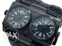 Police dual time watch