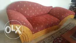 Love seat/chaise longue