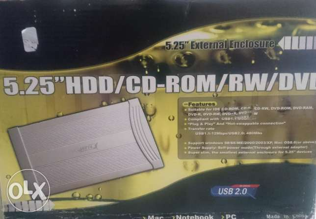 5.25 '' cd/dvd R and RW , never used