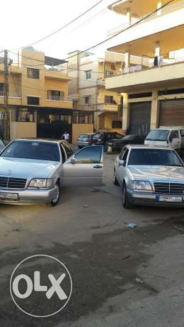 Mercedes benz 400sel ful option sherke ba3da seyara