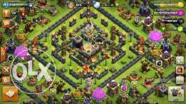 COC lvl157 for sale