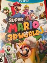 Super Mario 3D world (not used at all) brand new
