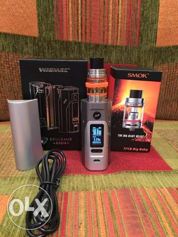 vape wismec rx2/3 used as new .