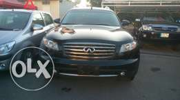 Infiniti fx35 2008 black/basketball premium package 86000 km