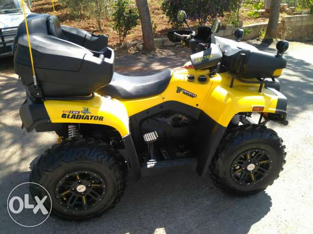 Atv cectek gladiator 500cc 4*4 2012, made in canada