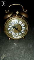 Antique clock (germany) copper gold plate