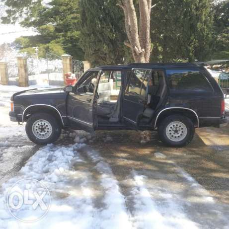 Blazer model 1992 very clean car for sale in good price