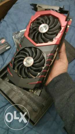 Msi gtx 1080 gaming x factory overclocked mint condition